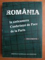 Anticariat: Romania in anticamera Conferintei de Pace de la Paris. Documente