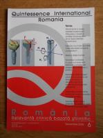Romania. Relevanta clinica bazata stiintific (decembrie 2008, nr. 6)