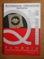 Romania. Relevanta clinica bazata stiintific (februarie 2008, nr. 1)