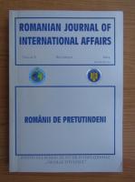 Anticariat: Romanian journal of international affairs, volumul 10. Romanii de pretutindeni