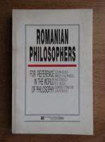 Anticariat: Romanian philosophers