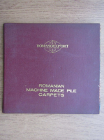 Romanoexport. Romanian machine made pile carpets