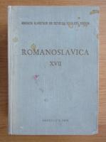 Anticariat: Romanoslavica (volumul 17)