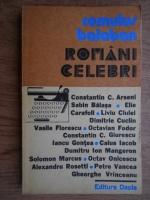 Anticariat: Romulus Balaban - Romani celebri
