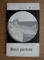 Anticariat: Romulus Guga - Barci parasite (volum de debut, 1968, tiraj 1540 exemplare)
