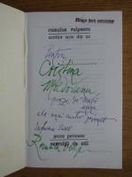Romulus Vulpescu - Scriitor scos din uz (cu autograful autorului)