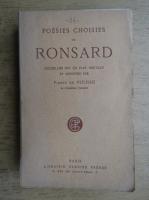 Anticariat: Ronsard - Poesies choisies (1924)