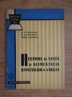 Anticariat: S. Cimpeanu, D. Sdrobici, Roda Visinescu - Regimul de viata si alimentatia oamenilor in varsta