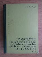 S. Raseev - Constante fizice principale ale hidrocarburilor si ale unor compusi organici (volumul 2)