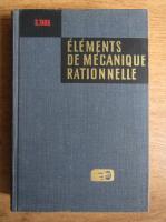 S. Targ - Elements de mecanique rationnelle