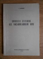 S. Vaimberg - Sursele externe ale vocabularului rus