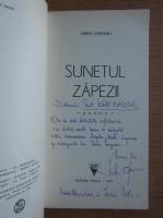 Anticariat: Sabin Opreanu - Sunetul zapezii (cu autograful autorului)