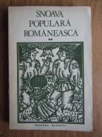 Sabina Cornelia Stroescu - Snoava populara romaneasca (volumul 2)