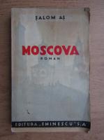 Anticariat: Salom As - Moscova (1935)