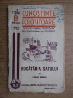 Sanda Marin - Cunostinte folositoare. Bucataria satului (1940)