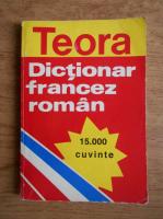 Sanda Mihaescu Cirsteanu - Dictionar francez-roman, 15.000 cuvinte