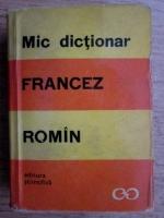 Sanda Mihaescu - Mic dictionar francez-roman