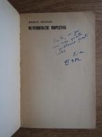 Anticariat: Sanda Radian - Reverberatie rupestra (cu autograful autorului)