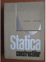 Anticariat: Sandu Rautu - Statica constructiilor