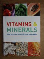 Anticariat: Sara Rose - Vitamins and minerals