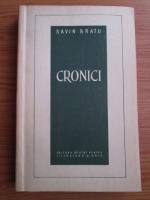 Anticariat: Savin Bratu - Cronici
