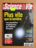 Anticariat: Science and Vie. Plus vite que la lumiere, octombrie 2000