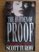 Anticariat: Scott Turow - The burden of proof