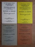 Anticariat: Serban Milcoveanu - Invitatie la gandire (4 volume)