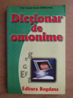 Anticariat: Sergiu Anton Berceanu - Dictionar de omonime