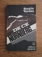 Anticariat: Sergiu Verona - De ce Nurnberg