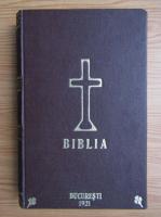 Sfanta Scriptura a Vechiului si Noului Testament. Noul Testament al Domnului si Mantuitorului nostru Iisus Hristos (2 carti coligate, 1921)
