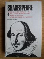 Shakespeare - Opere, Editura Univers (volumul 4)