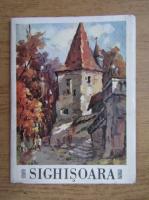 Sighisoara, picturi in ulei de Aurel Vlad