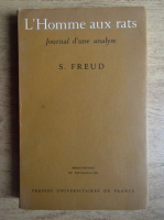 Anticariat: Sigmund Freud - L'Homme aux rats. Journal d'une analyse