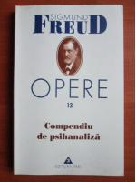 Sigmund Freud - Opere, volumul 13: Compendiu de psihanaliza