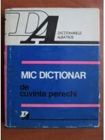 Silviu Constantinescu - Mic dictionar de cuvinte perechi