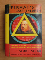 Anticariat: Simon Singh - Fermat's last theorem