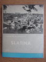 Slatina, pagini de monografie