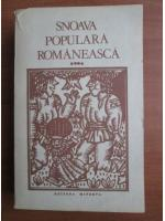 Snoava populara romaneasca (volumul 4)