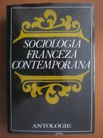 Anticariat: Sociologia franceza contemporana