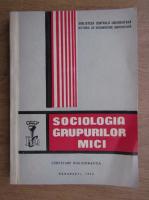 Anticariat: Sociologia grupurilor mici. Cercetare bibliografica