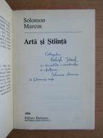 Anticariat: Solomon Marcus - Arta si stiinta (cu autograful autorului)