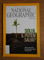 Anticariat: Solul. Il putem salva? (revista National Geographic, octombrie 2008)