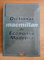 Anticariat: Sorica Sava - Dictionar Macmillan de economie moderna
