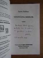 Anticariat: Sorin Holban - Vinovatia mieilor (cu autograful autorului)