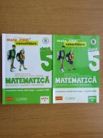 Sorin Peligrad - Matematica. Aritmetica, algebra, geometrie, clasa a V-a (2 volume)