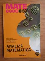 Sorin Radulescu, Ion Chitescu - Analiza matematica. Clasa a XII-a (2004)