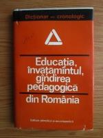 Anticariat: St. Barsanescu - Educatia, invatamanul, gandirea pedagogica
