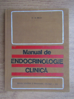 Anticariat: St. M. Milcu - Manual de endocrinologie clinica