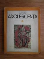 Anticariat: St. Zisulescu - Adolescenta